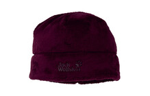 Jack Wolfskin Stormlock Soft Asylum Cap dark berry
